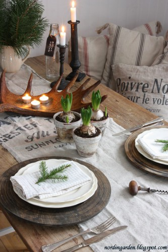 table Noël, idée déco Noël, Lovely Market