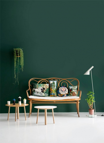 Id es d co chambre verte lovely market les trouvailles for Decoration chambre verte