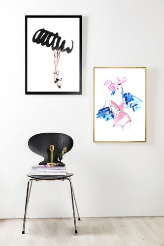 Illustration déco, Lovisa Burfitt, Lovely Market